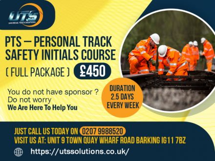 PTS - Personal track safety training courses London