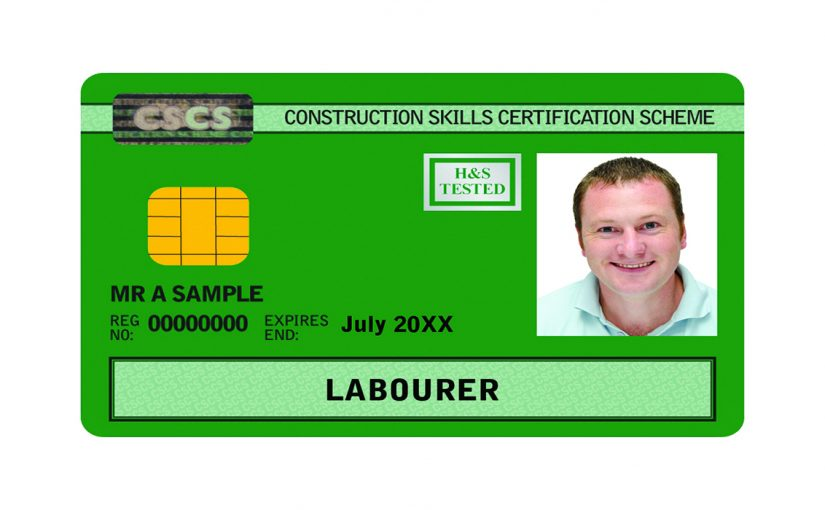 CSCS Green Card (full package)