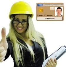 NVQ Level 3 Site Supervision Card (Gold Card)