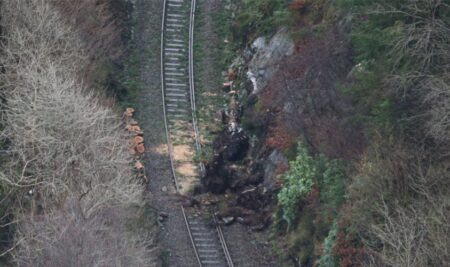 How storms and flooding affect the railway